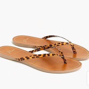 Jcrew tortoise Capri sandals